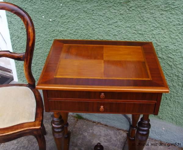 1 tisch beistelltisch kleine kommode telefontisch n htisch antik. Black Bedroom Furniture Sets. Home Design Ideas