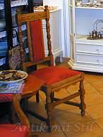 Antiker Stuhl - angeblich neu restauriert