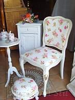 Antiker Stuhl, nostalgisch restauriert von Antik mit Stil