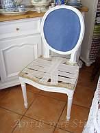 Restaurierung eines antiken Stuhls Schritt 4