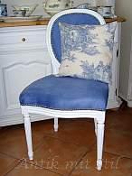 Restaurierung eines antiken Stuhls - fertig