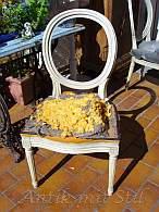 Wie ein angeblich restaurierter Stuhl wirklich aussieht