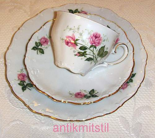 kaffeeservice sammeltasse seltmann weiden tasse untertasse desserteller rose ebay. Black Bedroom Furniture Sets. Home Design Ideas
