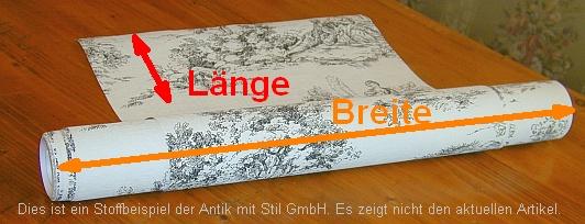 Stoff-Breite