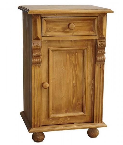 Nachttisch CLASSIC natur oder natur gewachst Massivholz Gründerzeit Antik Stil