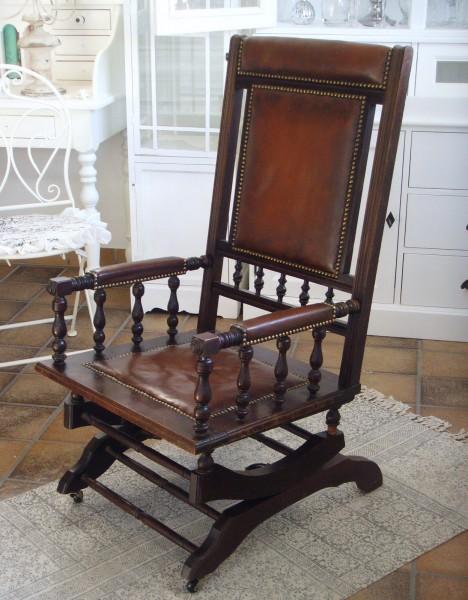 Alter Schaukelstuhl außergewöhnlicher alter schaukelstuhl | antik mit stil online-shop