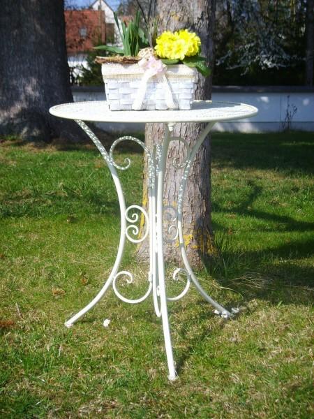 Balkontisch Gartentisch aus Metall im Antik-Stil