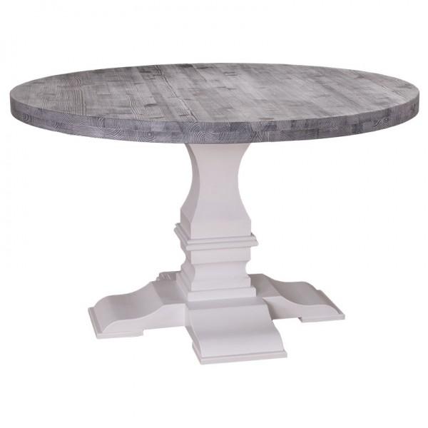 Esstisch im nostalgischen Klostertisch-Stil AS624, mit Tischplatte aus Eiche, 100% Massivholz