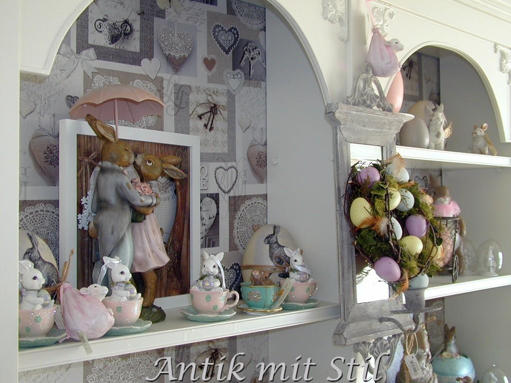 Osterhasen bei Antik mit Stil