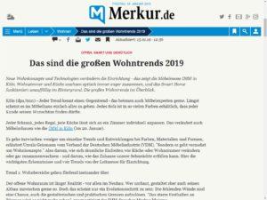 Merkur Artikel zur IMM 2019
