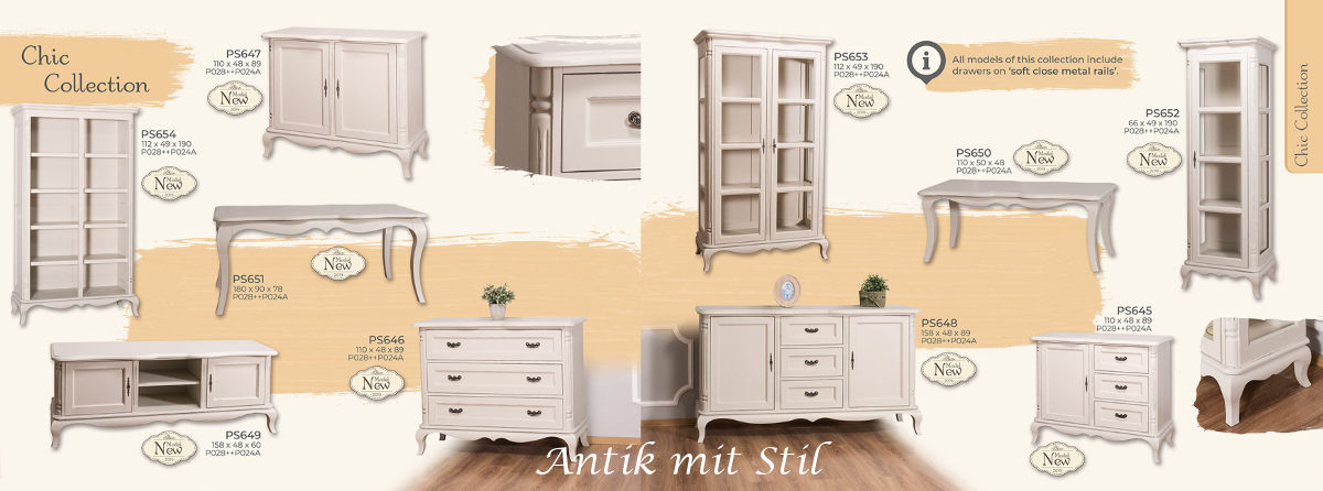 Chic Collection von Anti mit Stil