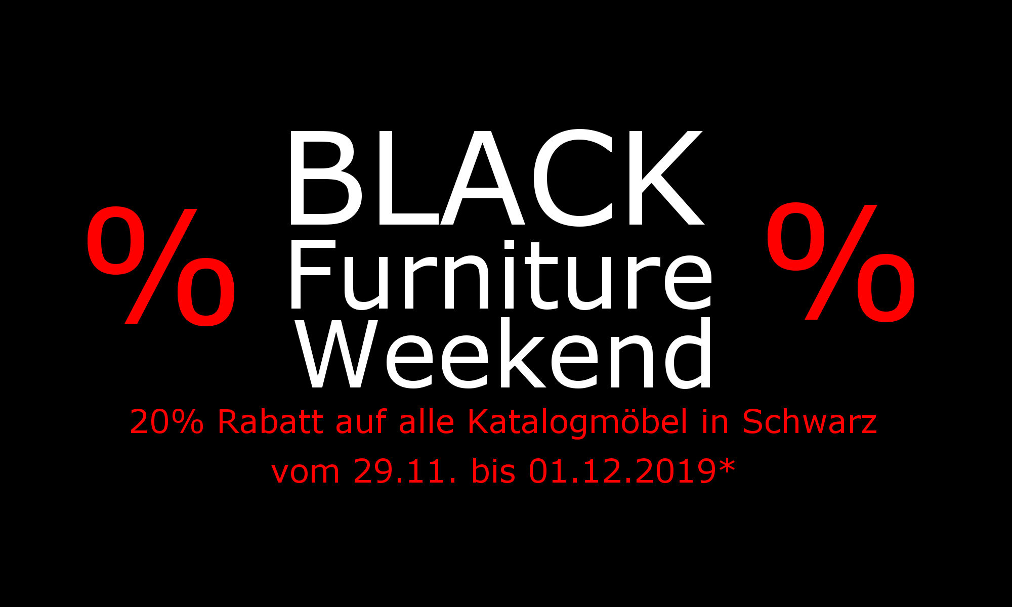 Black Furniture Weekend 2019 bei Antik mit Stil